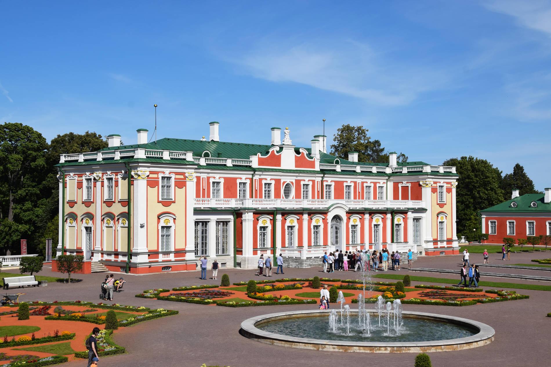 Дворец Кадриорг в Таллине. Фотография: Kadi-Liis Koppel