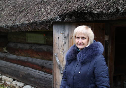 Merike Lang - Open Air Museum is an Estonian Village in Tallinn