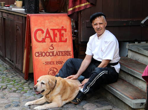 Peeter Reier - Pierre Chocolaterie in the Masters' Courtyard is Tallinn's chocolate lovers' heaven