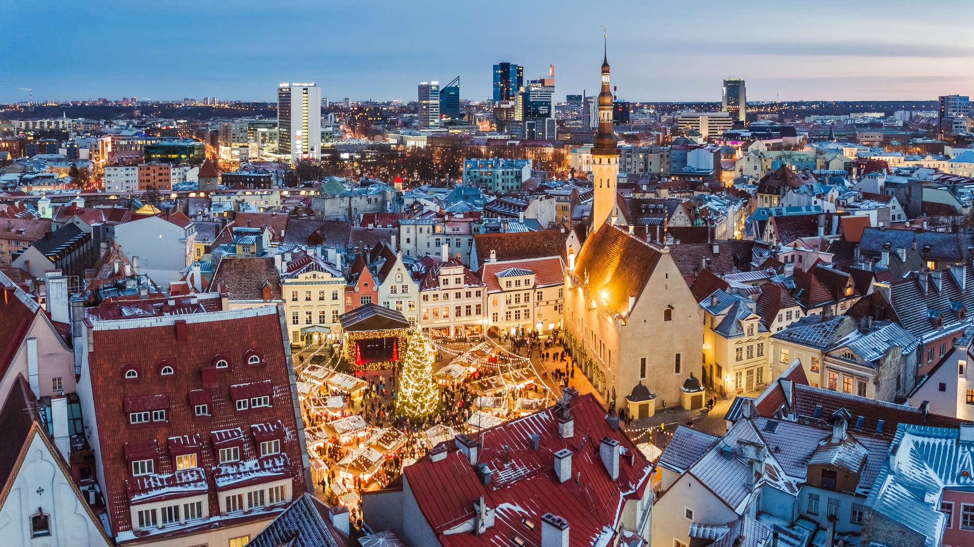 Christmas Market in Tallinn, Estonia. Photo by: Kaupo Kalda