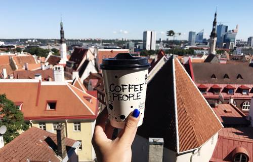TOP 5 take-away coffee shops in Tallinn