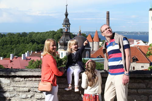 An active holiday with children in Tallinn