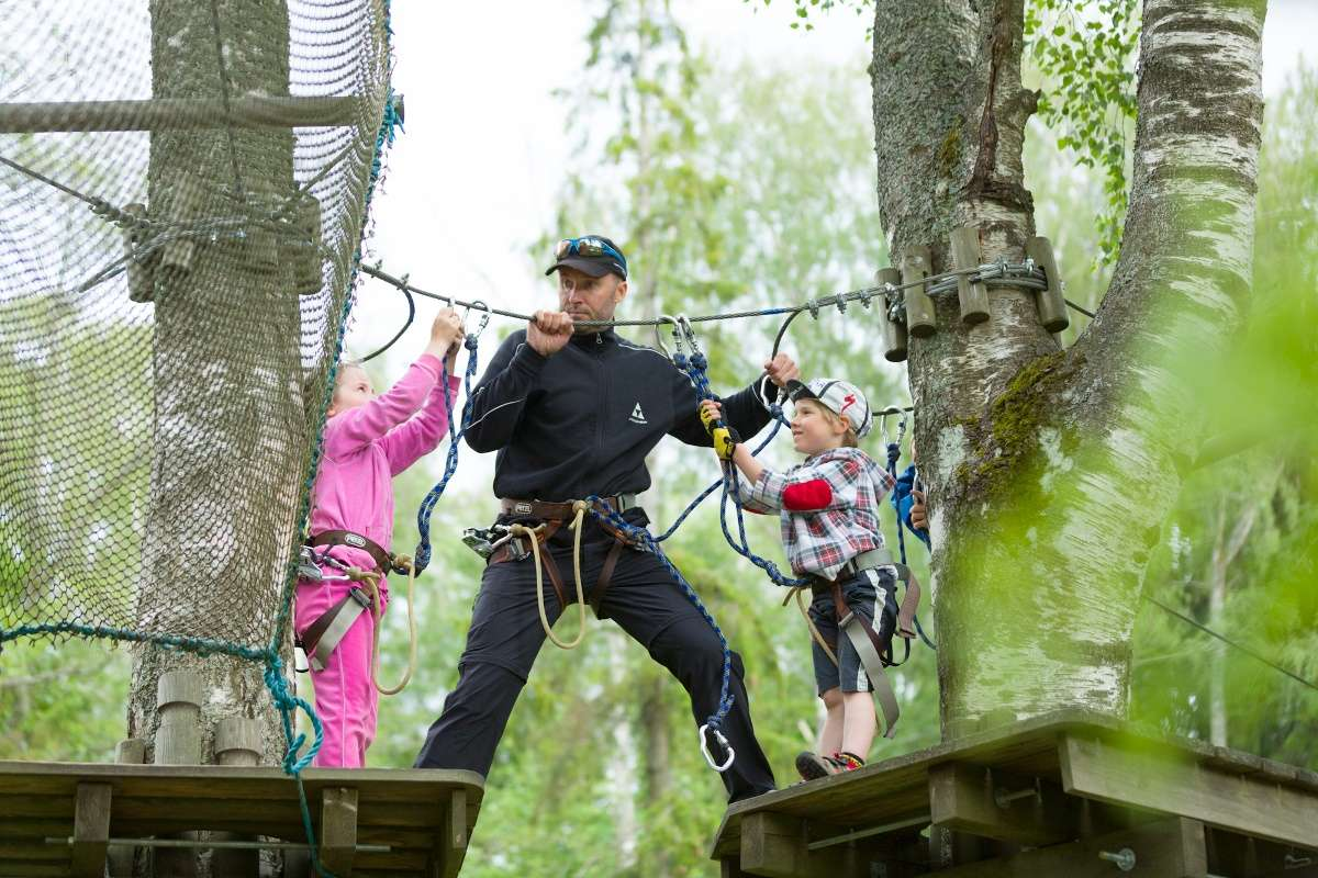 Nõmme Adventure Park in Tallinn, Estonia