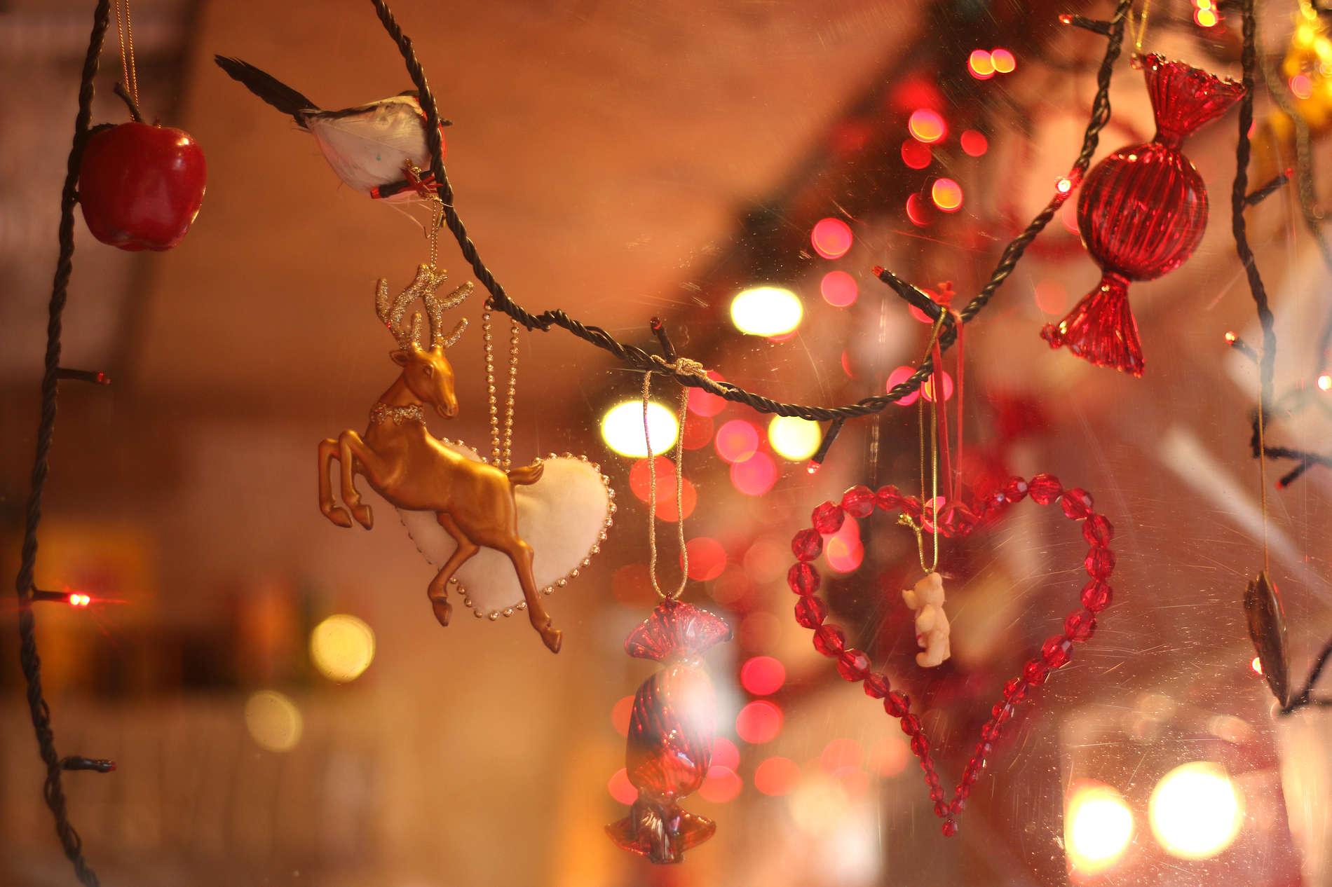 Christmas decorations at Tallinn Christmas Market in Estonia. Photo by: Kadi-Liis Koppel