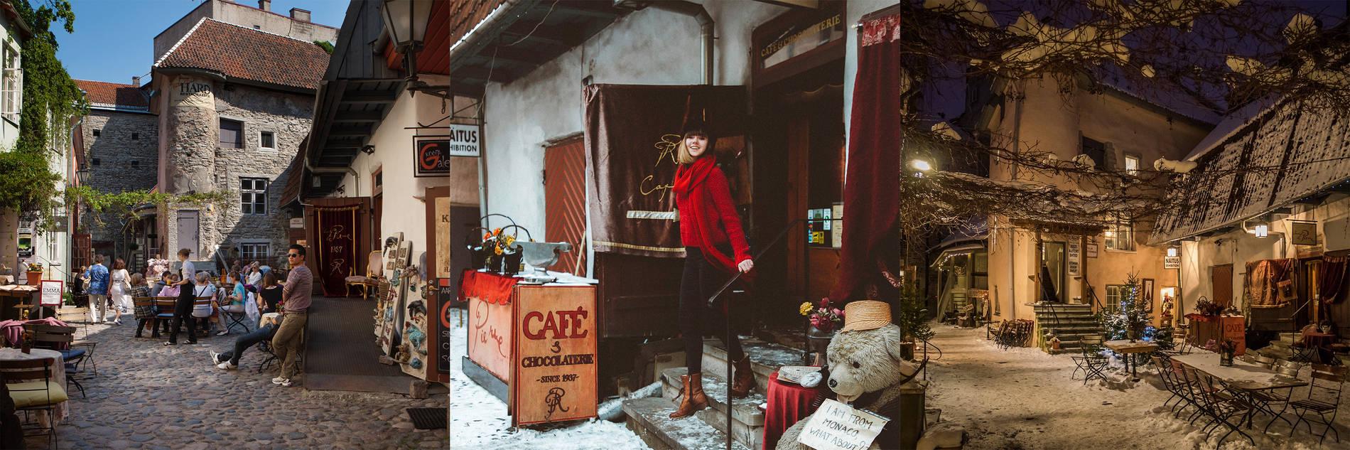 Mestaripiha Tallinnan vanhassakaupungissa Kuva: