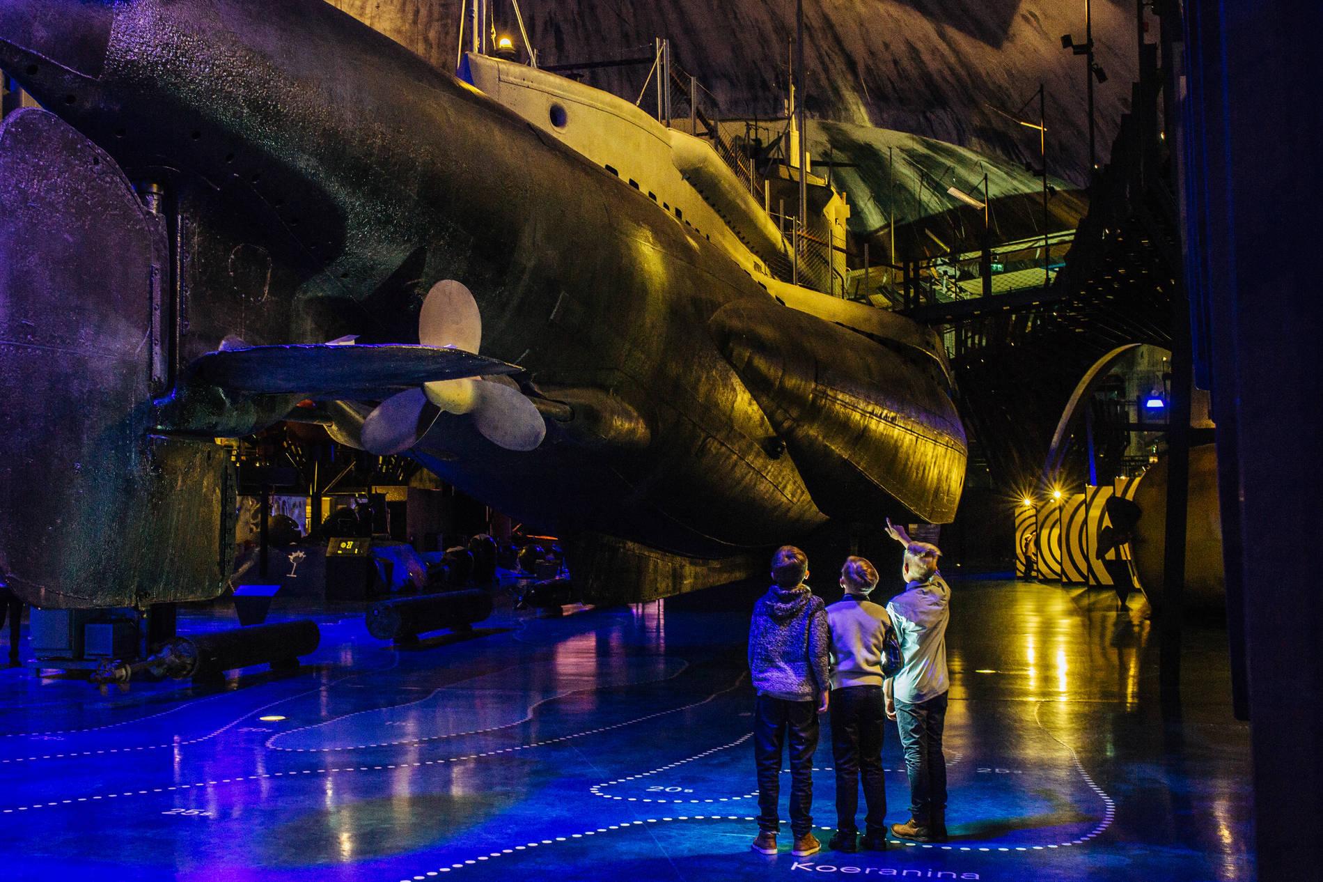 Seaplane Harbour museum, Estonian Maritime Museum in Talllinn, Estonia.
