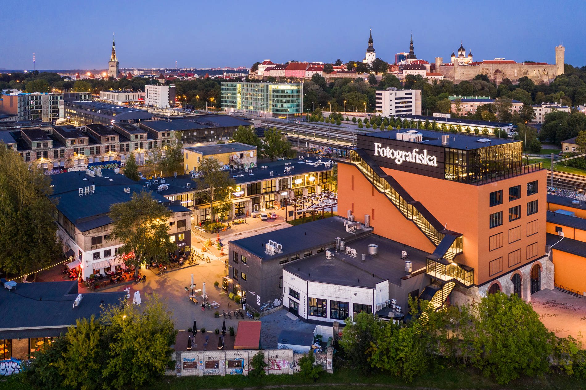Telliskiven luova keskusta ja Fotografiska Tallinn, Viro Kuva: Kaupo Kalda