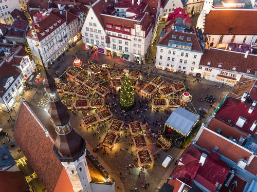 Holiday season in Tallinn