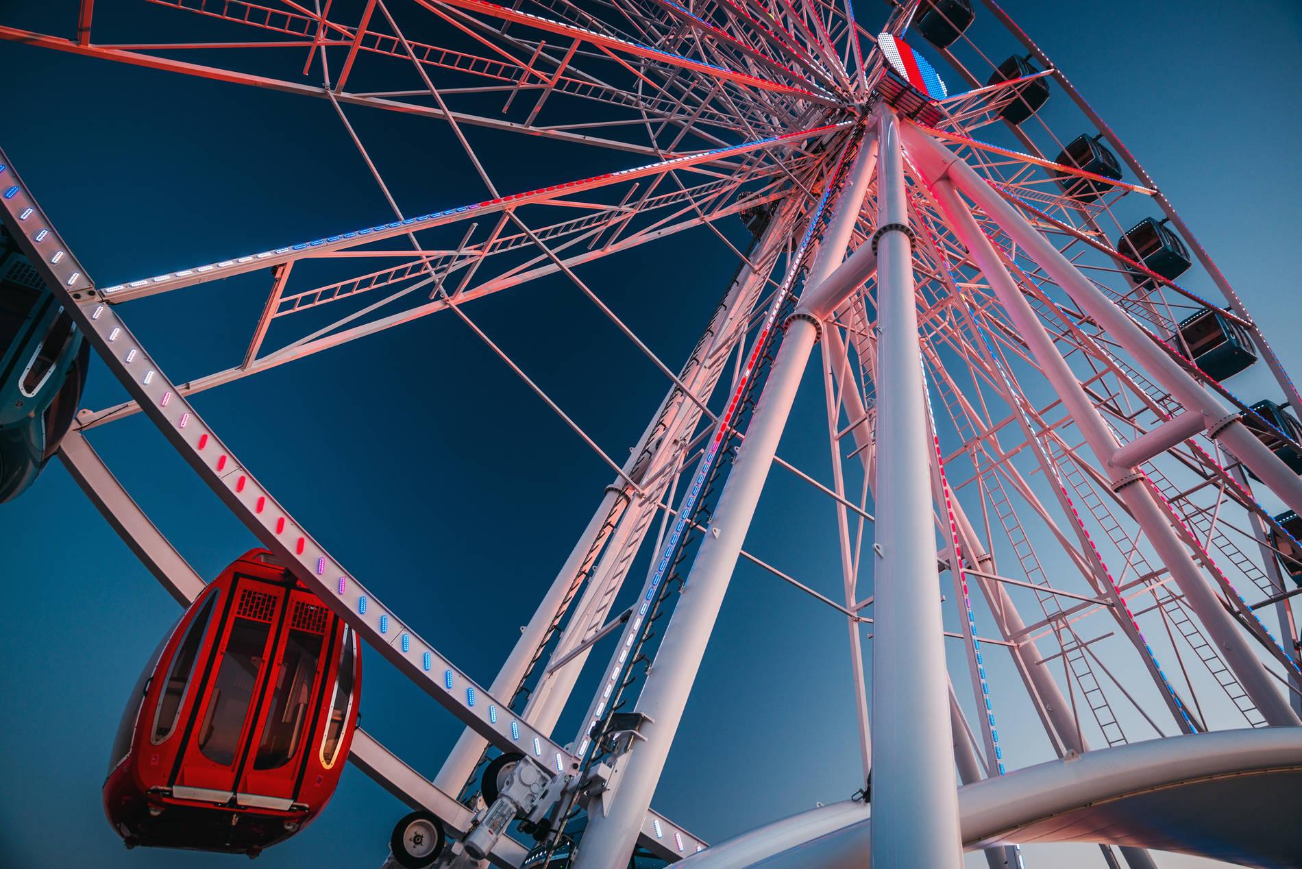 Skywheel of Tallinn -maailmanpyörä Tallinnassa Virossa. Kuva: Artur Iljajev / Skywheel of Tallinn