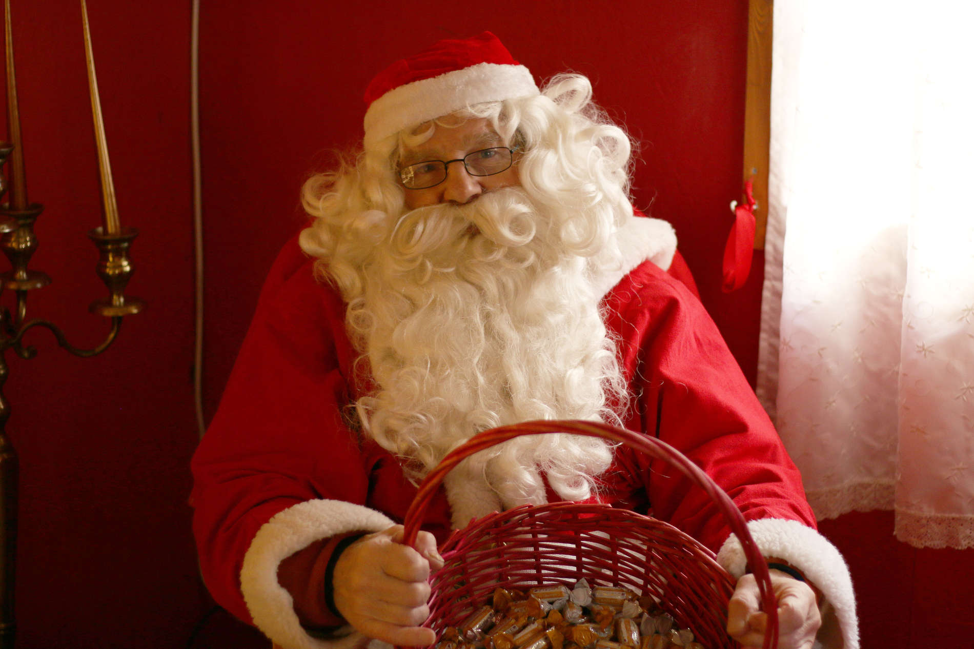 Santa Claus at the Christmas Market of Tallinn, Estonia. Photo by: Kadi-Liis Koppel