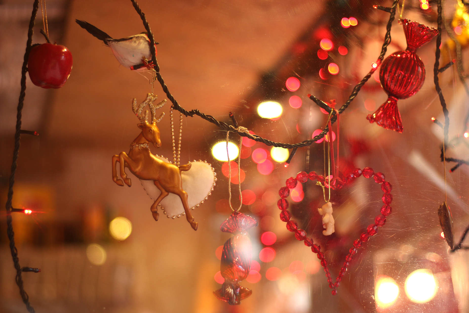 Christmas decorations at Tallinn Christmas Market in Estonia. Photo by: Kadi-Liis Koppel